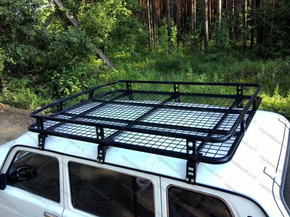 Экспедиционный багажник на Ниву: конструкция 783